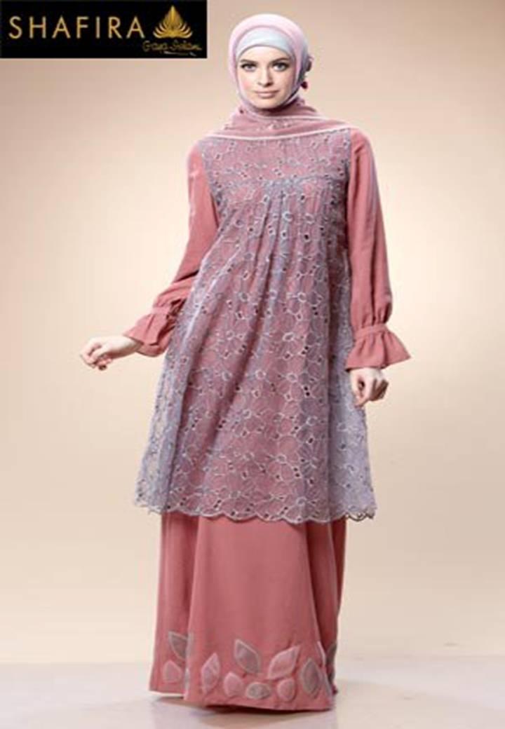 New Baju Muslim Gamis Butik
