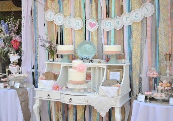 vintage wedding receptions