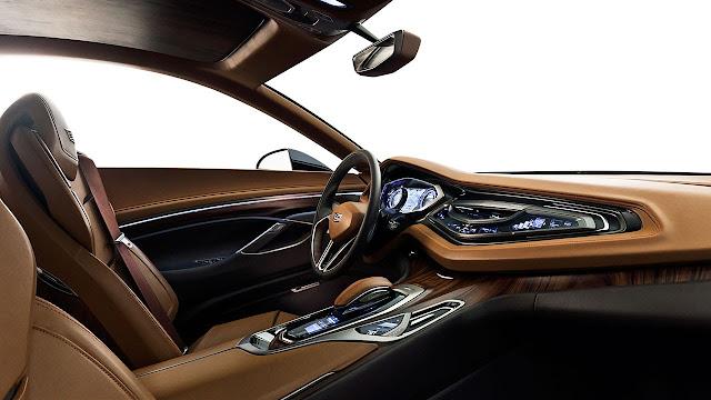 Cadillac Elmiraj Concept dash