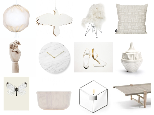 Shop selection: Pure white