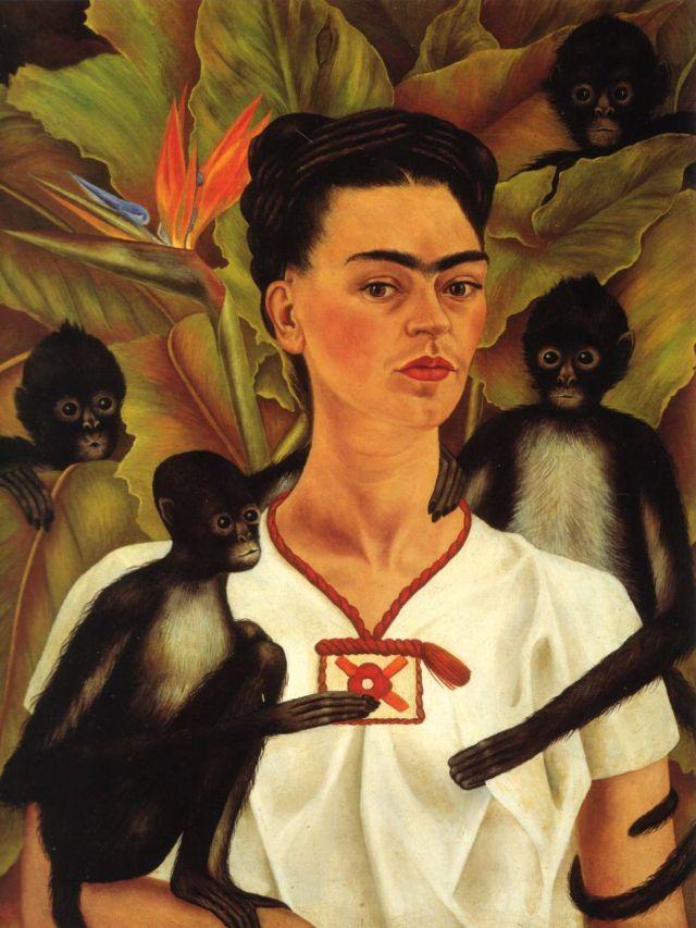 Frida Kahlo (1907-1954) Nuestra artista favorita y co-presidenta honorífica.
