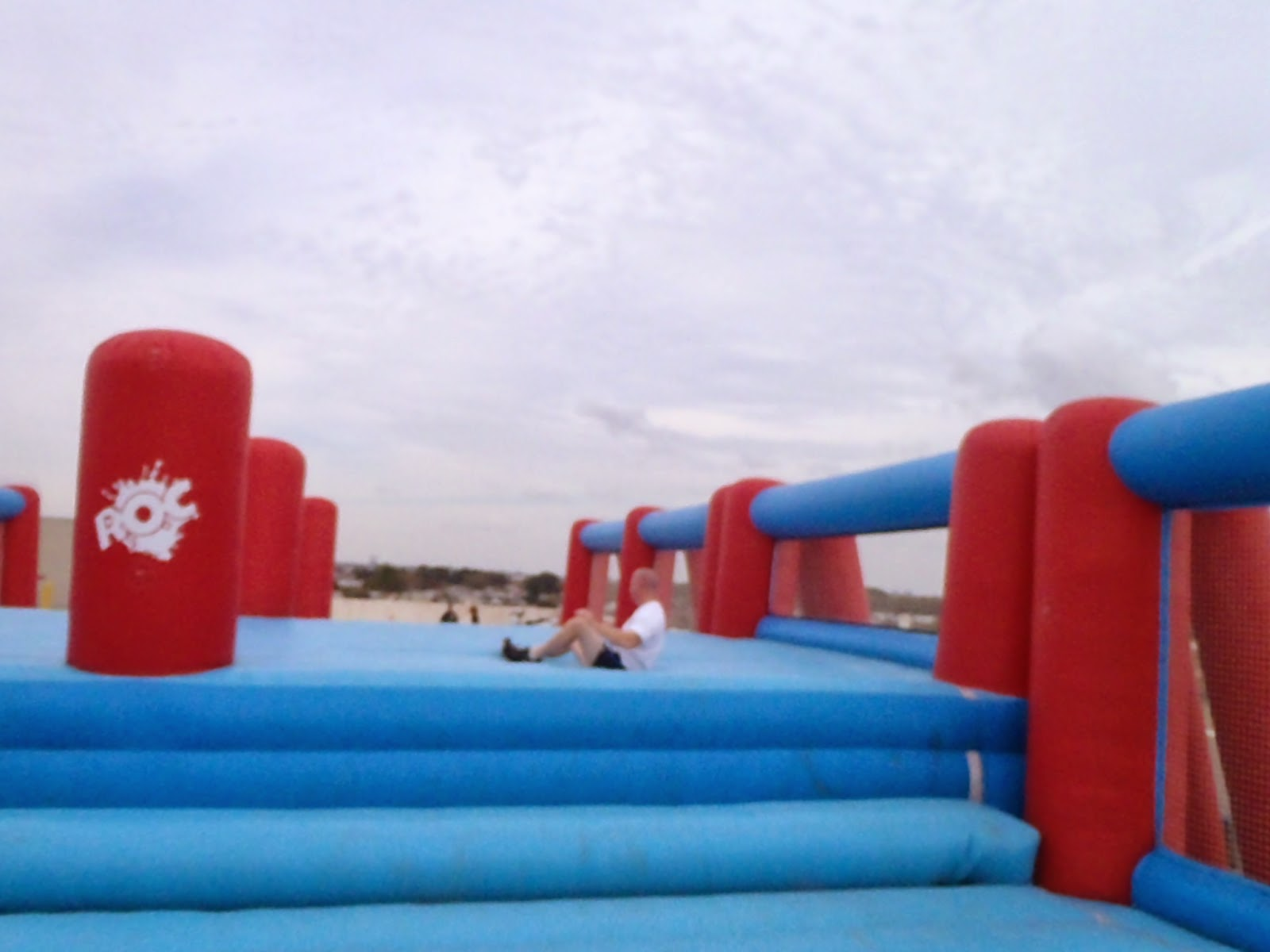 Roc Race world's largest moon bounce
