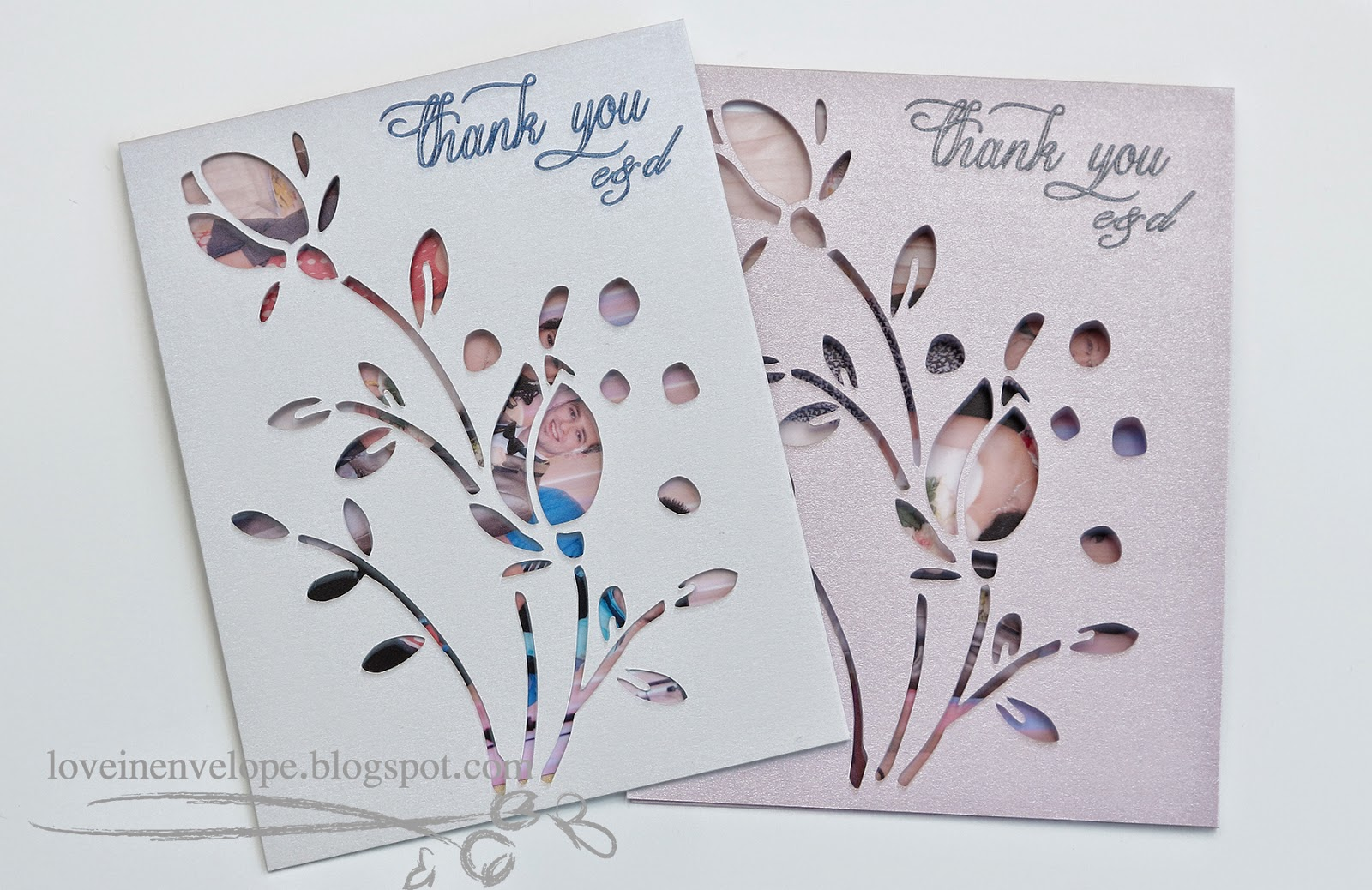 Love in Envelope: Wedding Thank You Cards + It\'s a Girl!