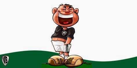 Eu comemorando gol do Botafogo e da Seleção no Facebook
