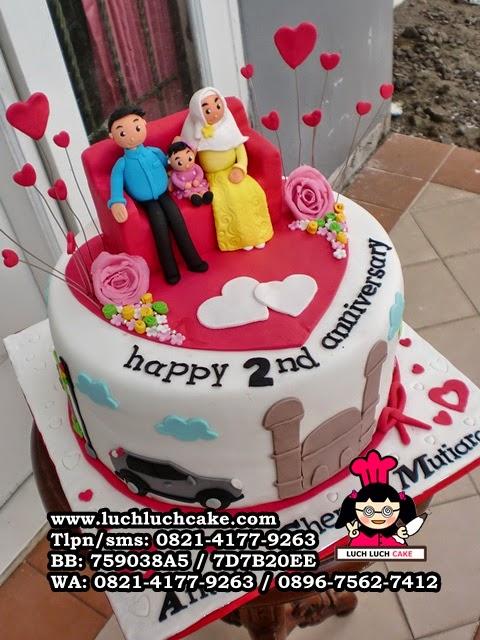 kue tart anniversary unik