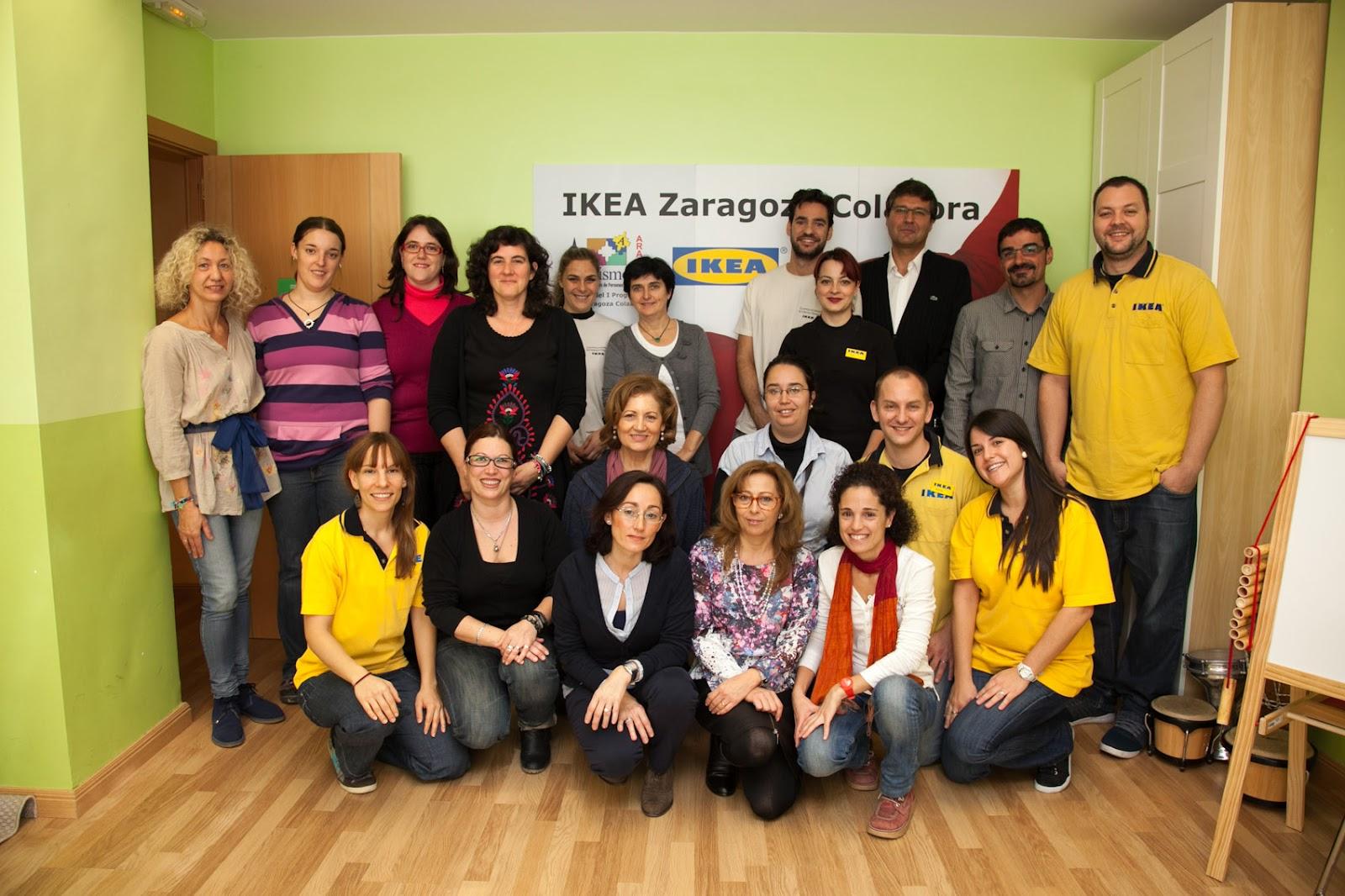 Autismo arag n nuevo equipamiento gracias al programa for Muebles sanchez zaragoza