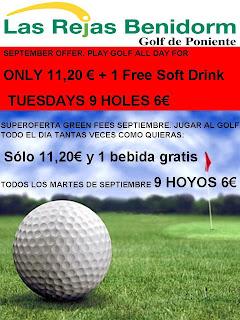 Oferta Golf Las Rejas Benidorm