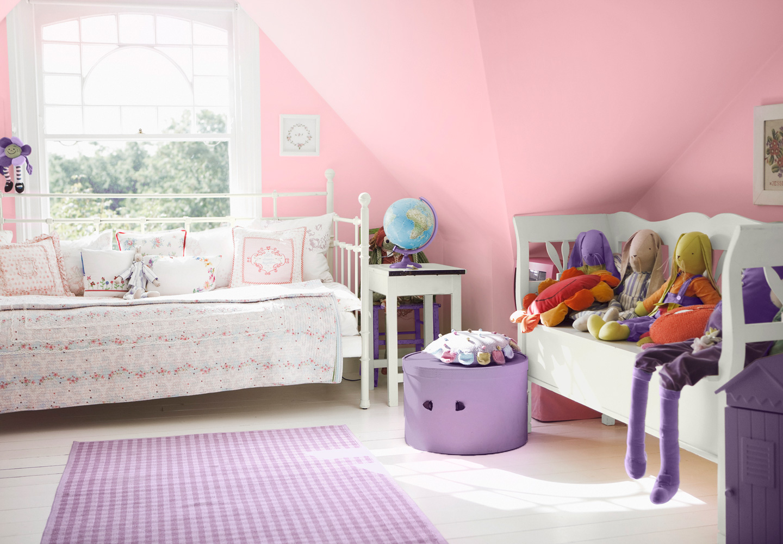 Colores para decorar dormitorios de ni as azdeco for Colores para dormitorios