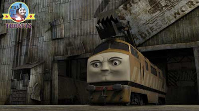 Evil Diesel 10 train pictures of Thomas and friends day of the diesels movie characters for kids