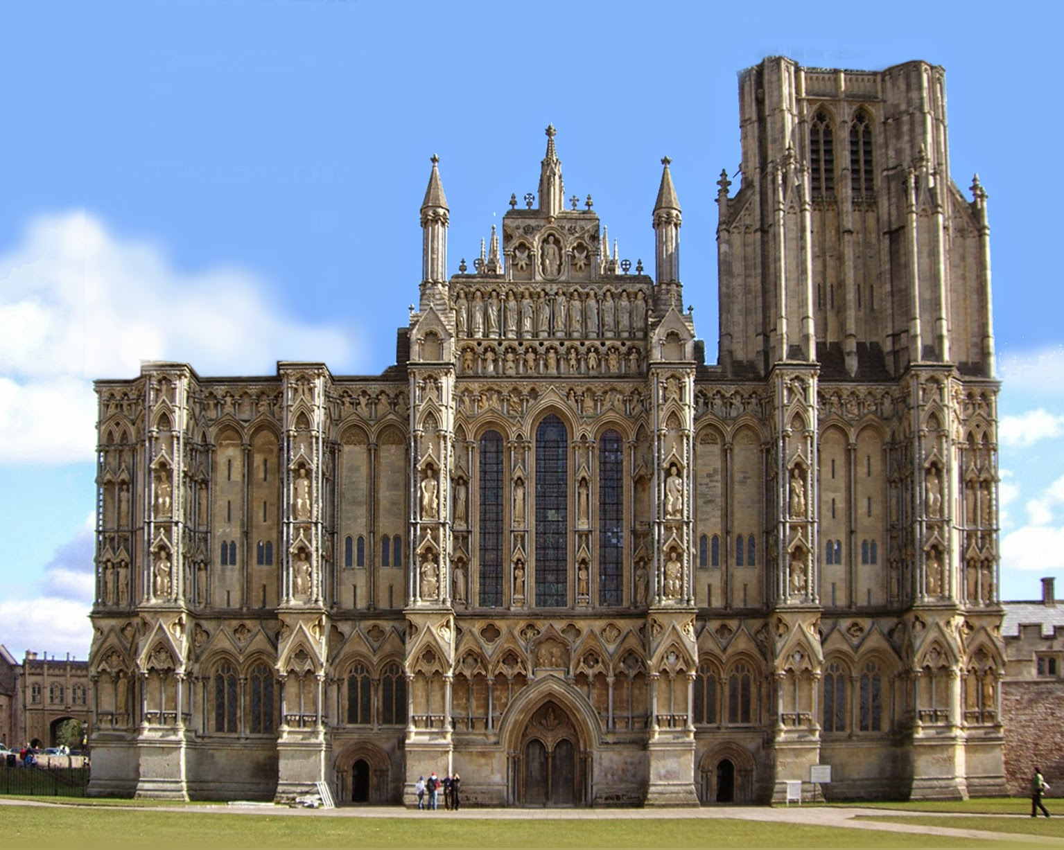 favourite things......: Wells Cathedral - the finest west front in ...