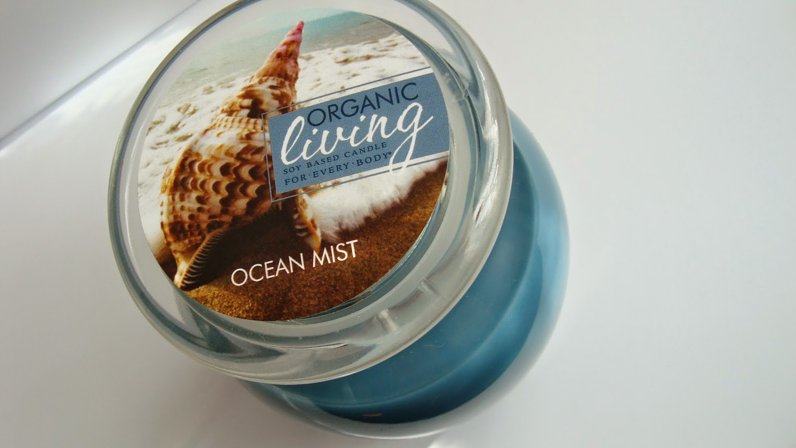 Świeca ze sklepu Aromatyczne Świece o zapachu OCEAN MIST