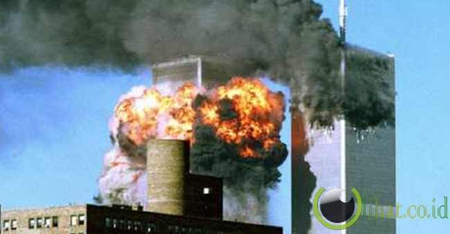 hancurnya WTC 9/11 di Amerika Serikat