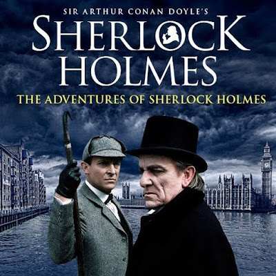 Poster Of The Adventures Of Sherlock Holmes 1985 Watch Online Free Download