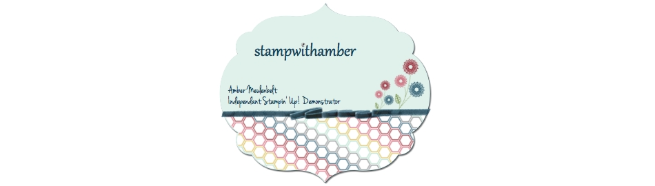 stampwithamber - Amber Meulenbelt, independant Stampin' Up! demonstrator