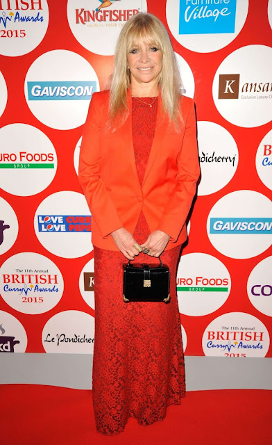 Model, Television Personality, @ Jo Wood - British Curry Awards in London