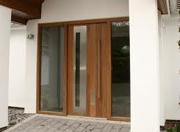 Fotos de puertas fotos de puertas principales contemporaneas for Puertas principales de madera modernas minimalistas
