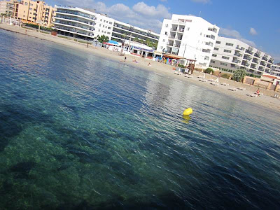 Figueretes Beach in Ibiza