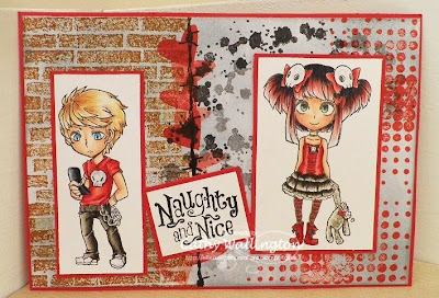 teenage character stamps by visible image