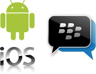 Memindahkan Kontak BBM Blackberry ke Android atau IOS