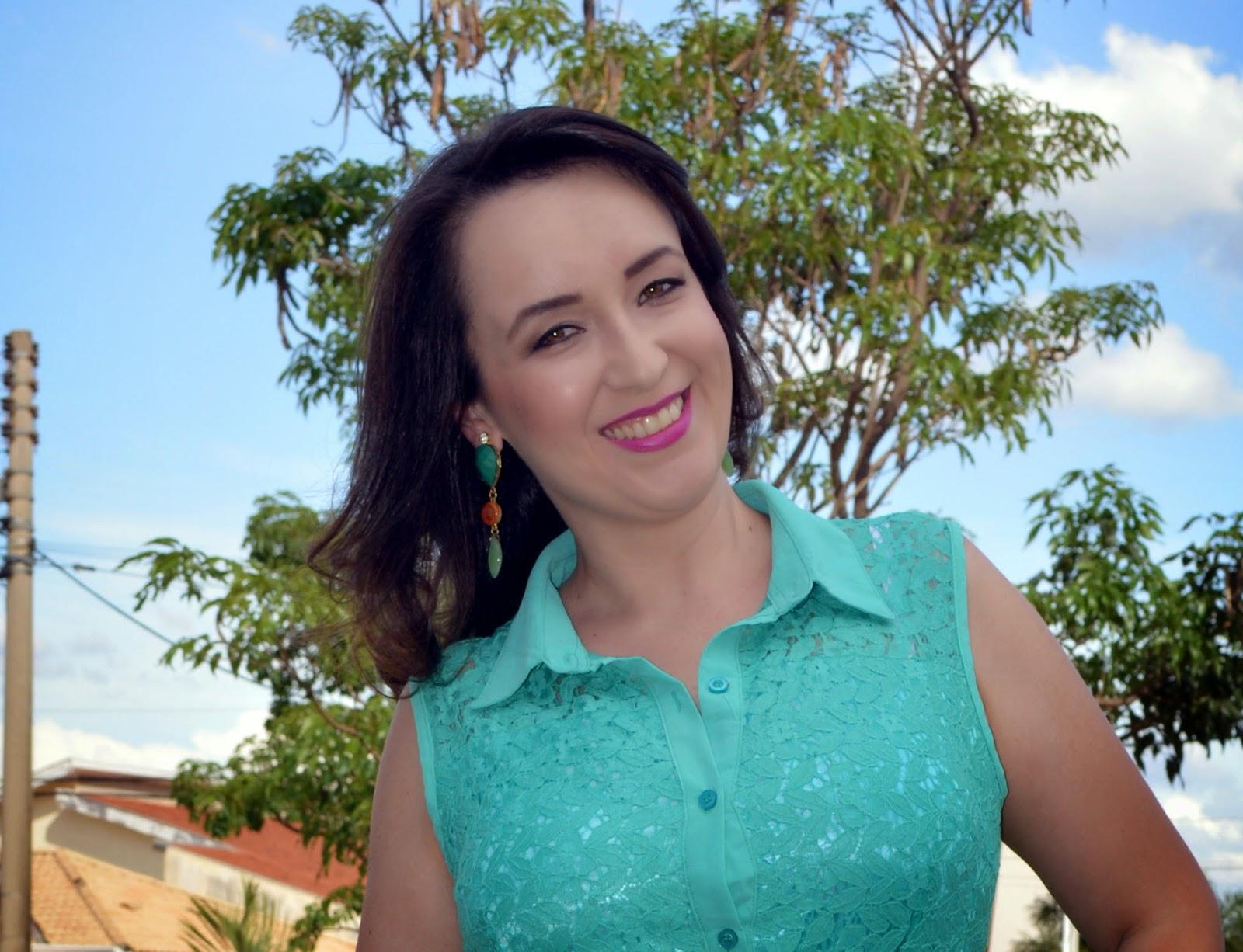 vestido renda verde, lalilu modas, blog camila andrade, blog de moda de ribeirão preto, look do dia, inspiração de look, fashion blogger