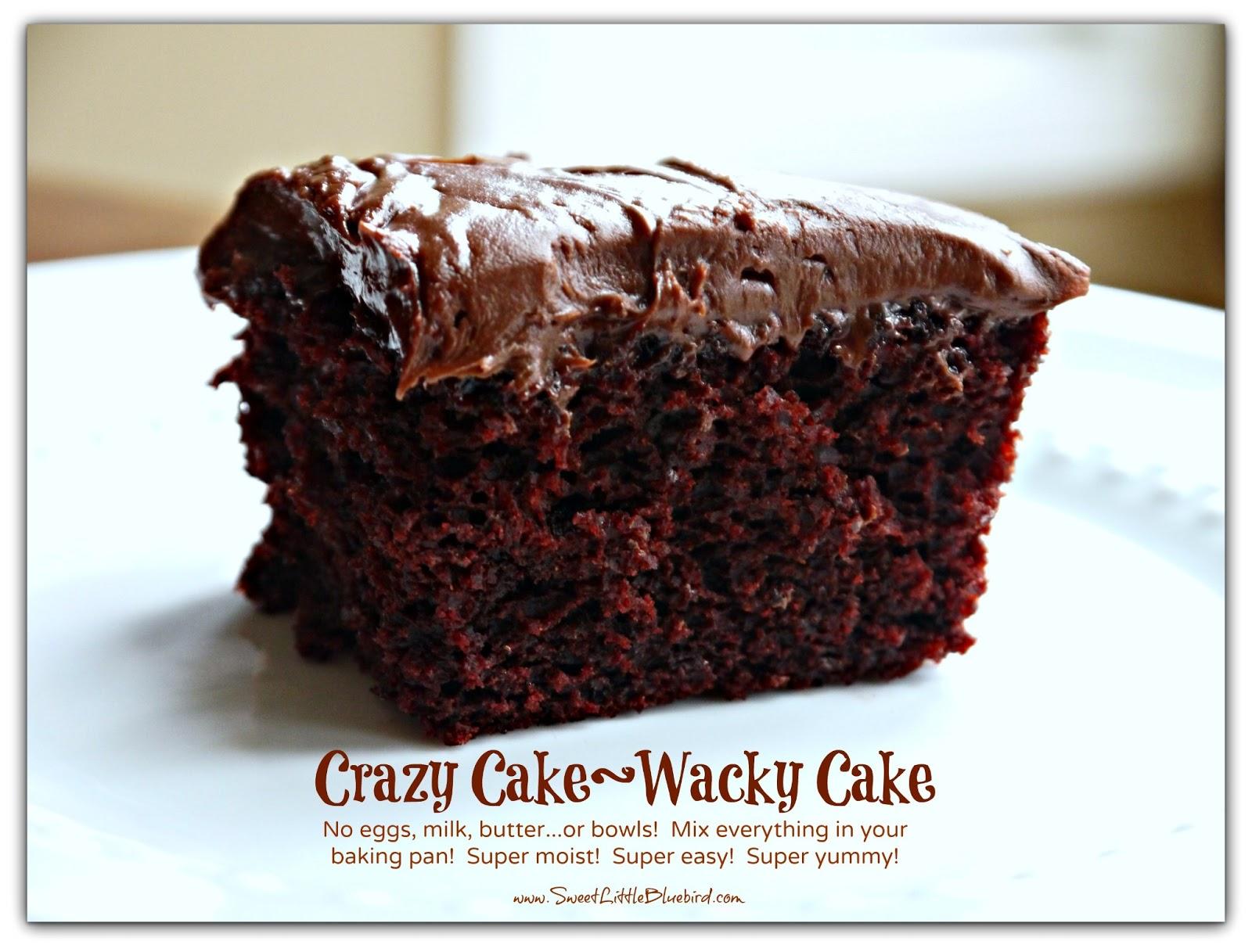 Cake Recipe During Great Depression
