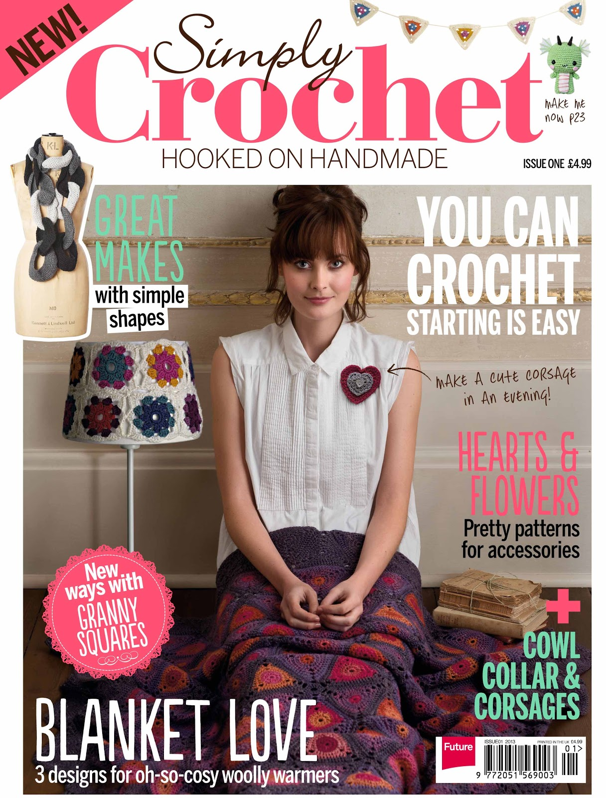 Learn How To Crochet Magazine : Bee and Buzz: New Crochet Magazine - Simple Crochet