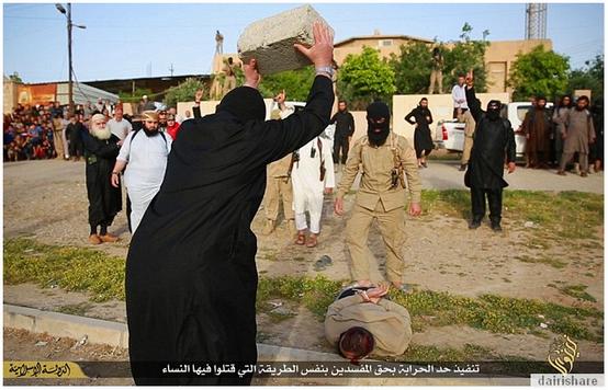 4 GAMBAR Kepala Lelaki Dihempas Dengan Batu Hingga Mati Kerana Mencuri