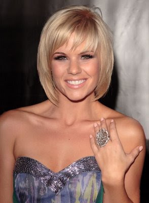 short bob hairstyle ideas 2013  a crown made of ivy