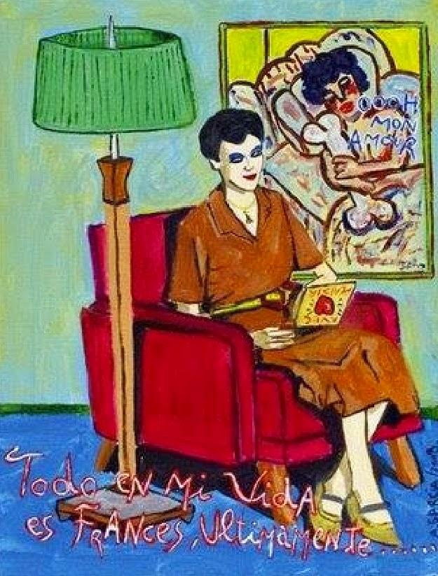 Todo en mi vida es francés últimamente, Agustí Garcia Monfort, Bad Painting, Pintura
