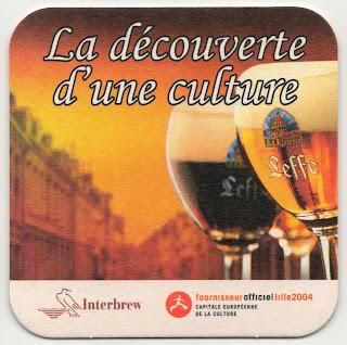 sous-bock Lille 2004 capitale européenne de la culture