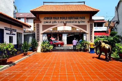 Jalan Jonker di kota Melaka