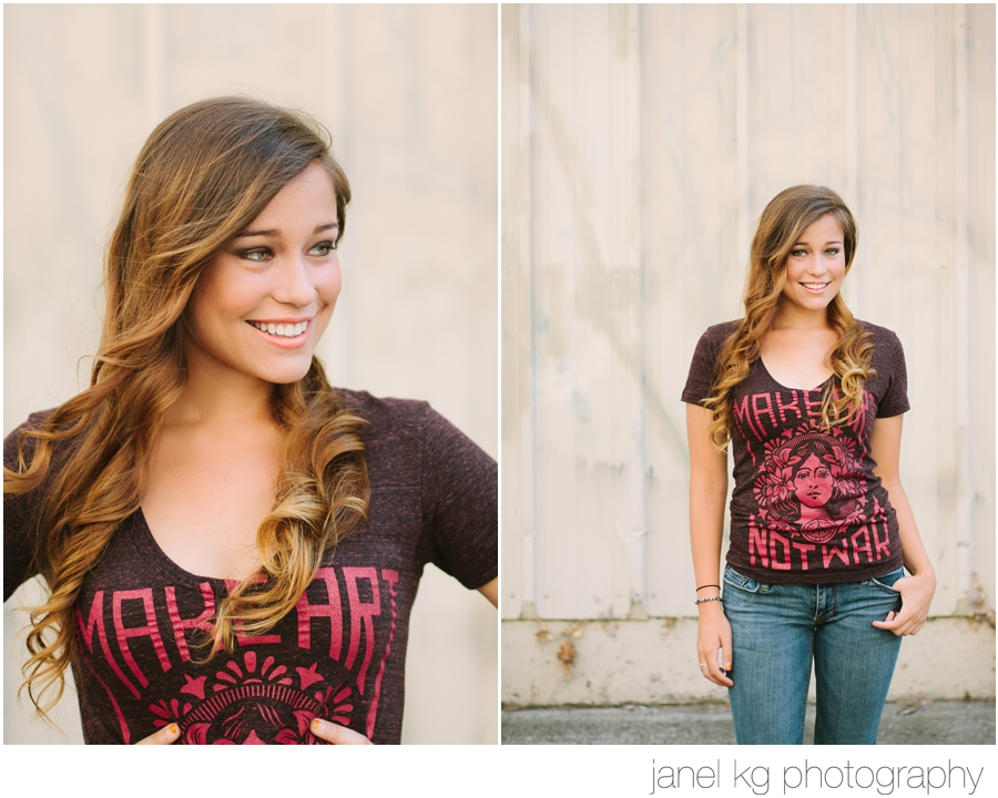 Sacramento Senior Portraits with Janel KG Photography