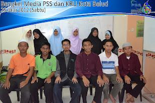 Bengkel Media PSS dan KRU Kota Belud 2012
