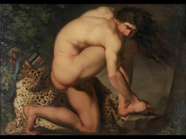 Nicolai-Abraham-Abildgaard---Philoctete-