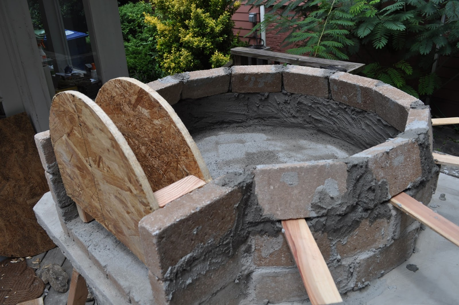 Heat Resistant Mortar Lowe S : The cow spot outdoor kitchen finale