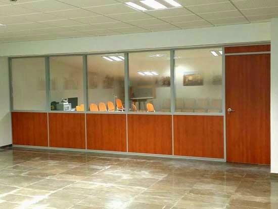 Mamparas de oficina dise o fabricaci n y montaje for Mamparas de oficina