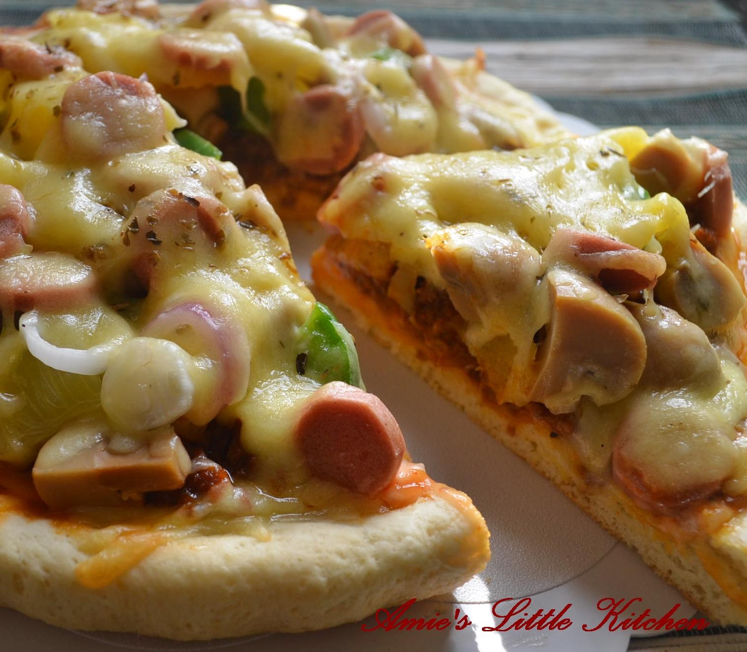 AMIES LITTLE KITCHEN Pizza Resepi Lengkap Dayang Jack
