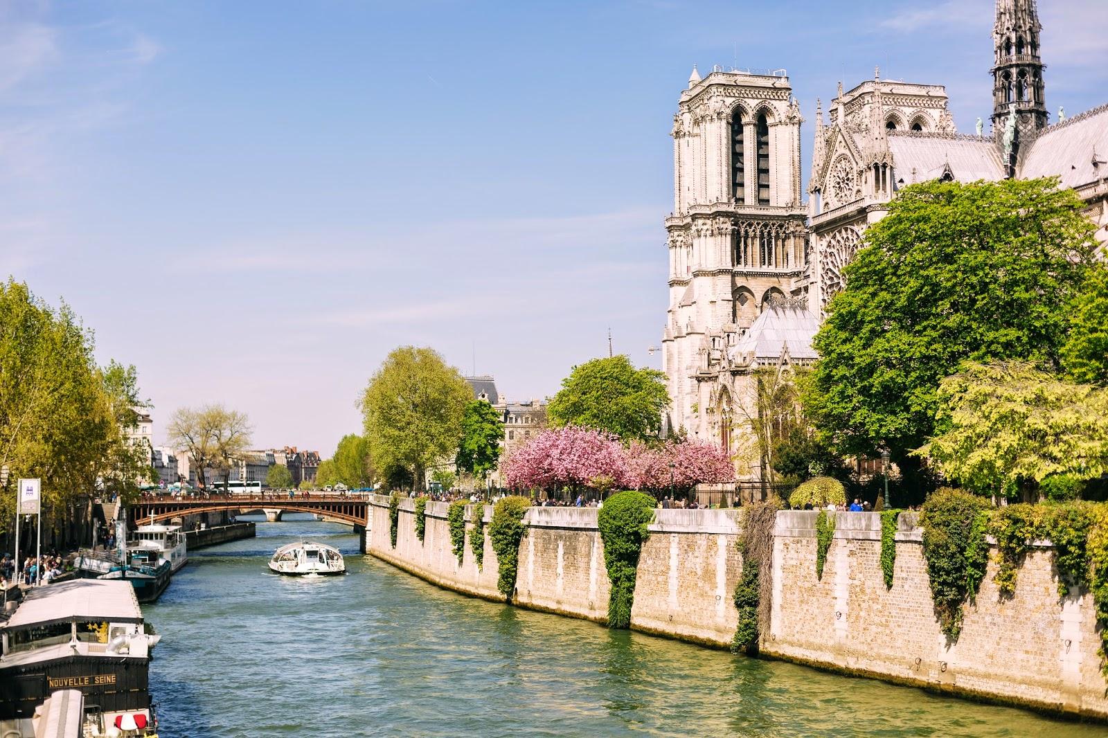 Paris the seine