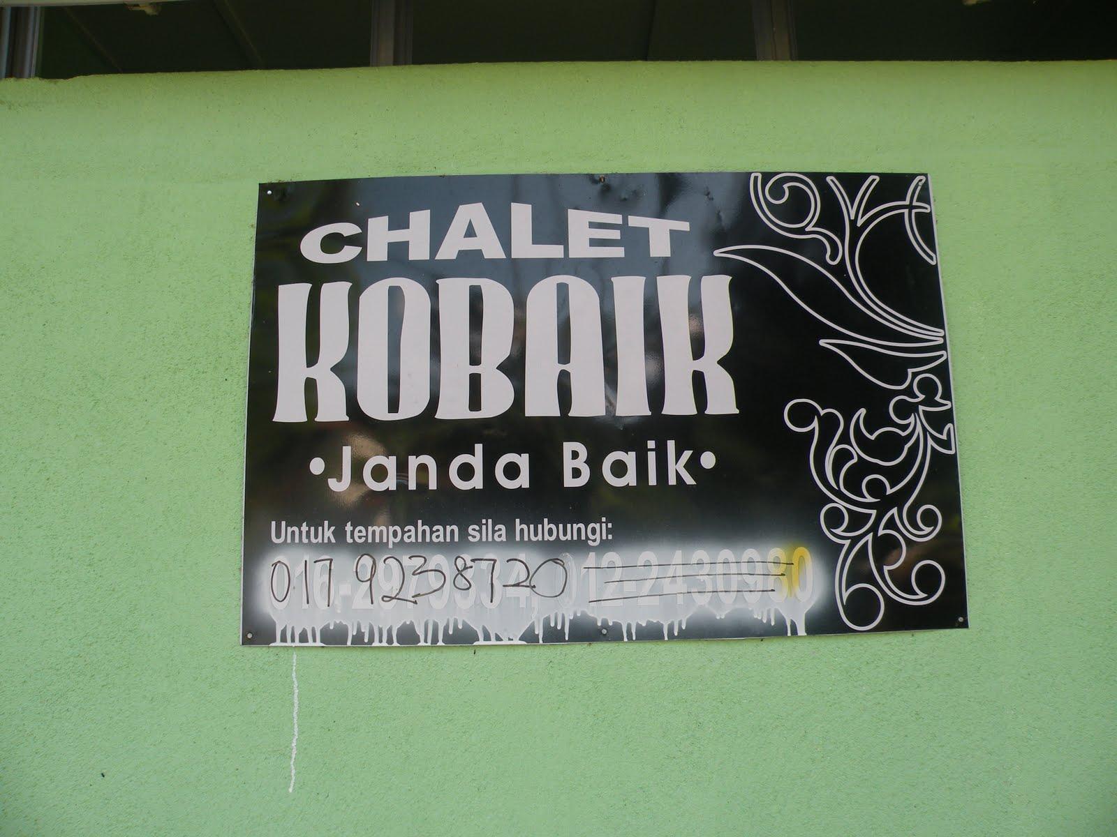 Janda Baik Chalet