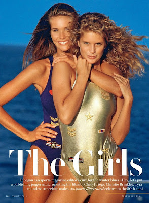 Elle Macpherson, Rachel Hunter, Cheryl Tiegs HQ Pictures Vanity Fair US Magazine Photoshoot February 2014