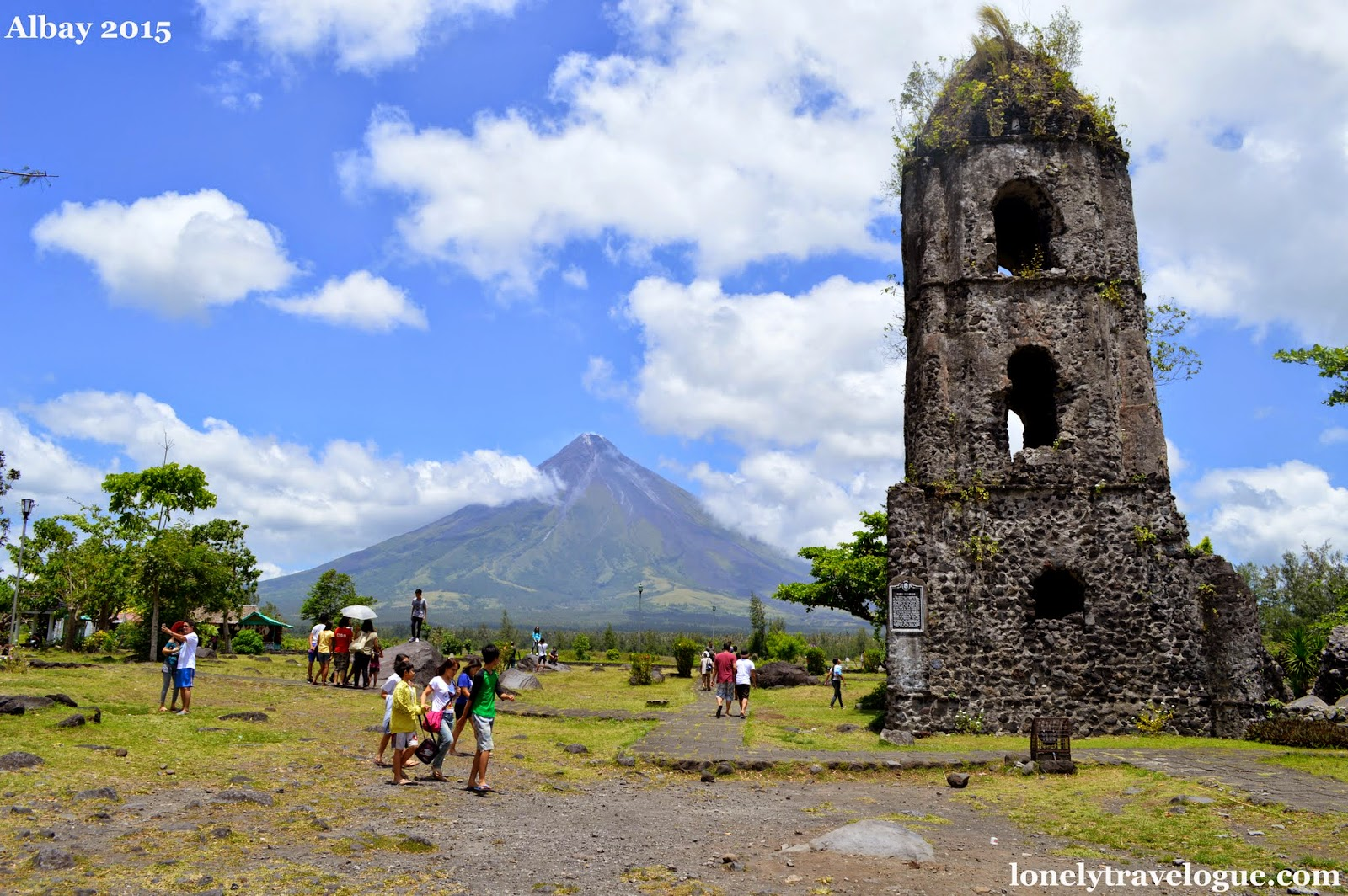 Lonely Travelogue Five Things To Do In Daraga And Legaspi Albay