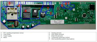 Electrolux EWM1000 ref 973914211033001 programmer-programador