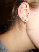 Tragus Piercing shop. Skull New look or H&M can't quite remember