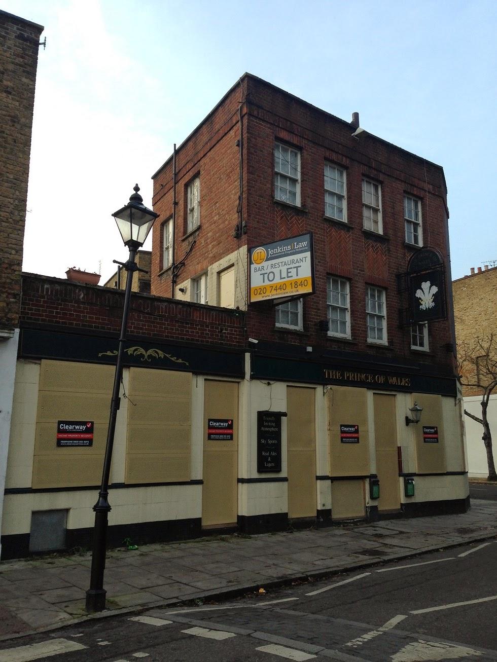 Abandoned pub, Islington, London