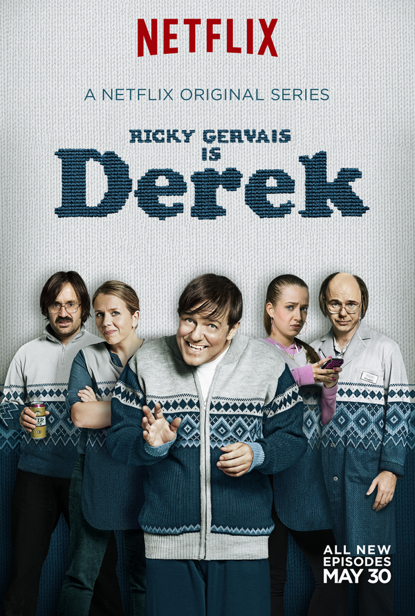 Derek Series 2 is streaming worldwide on NETFLIX