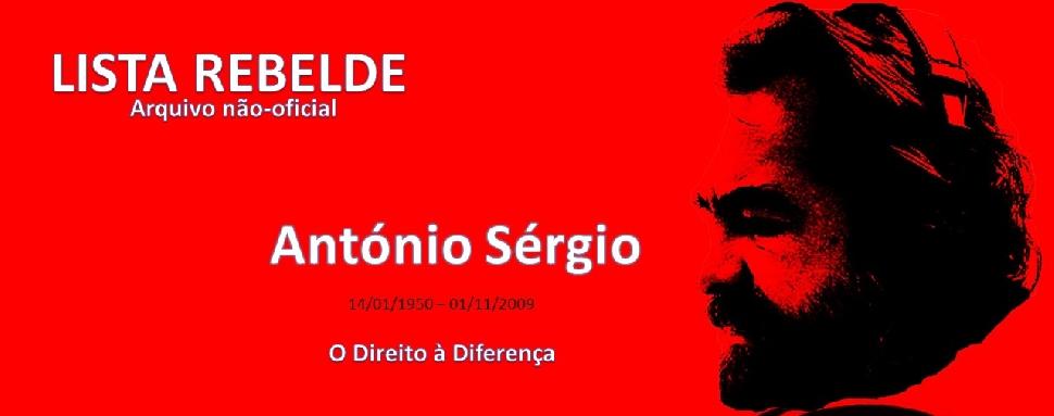 Lista Rebelde (arquivo não oficial de António Sérgio)