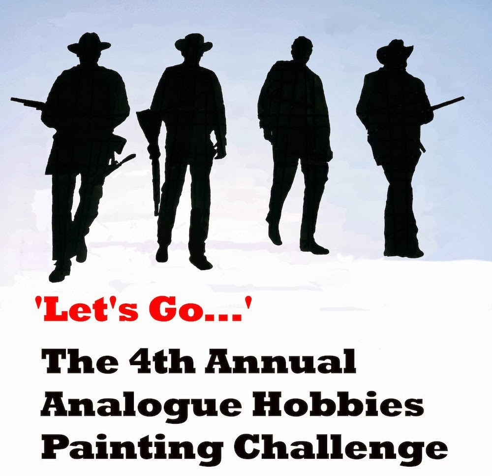 The 4th Annual Analogue Hobbies Painting Challenge