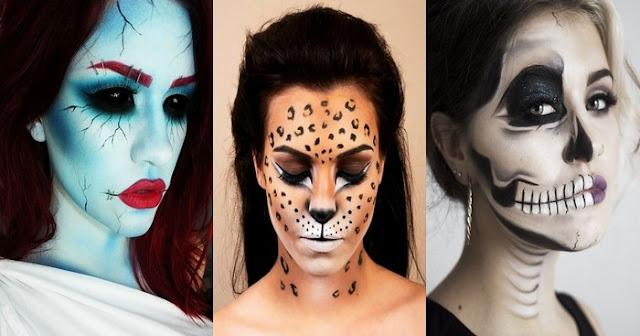 Voici les meilleurs maquillages d' Halloween