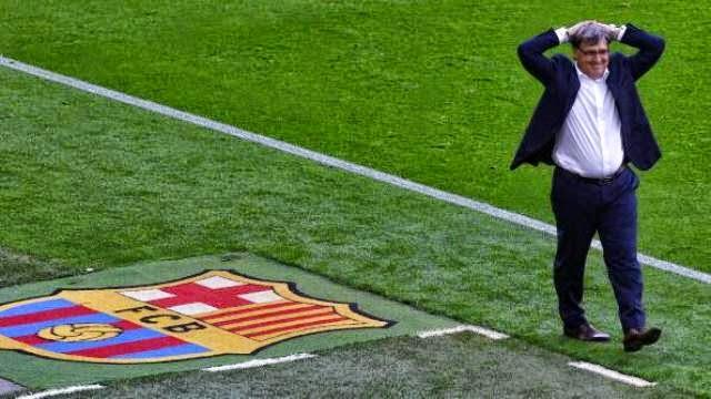 رسميا : استقالة تاتا مارتينو من تدريب برشلونة