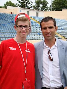 Com o Pauleta no Torneio Lopes da Silva (Açores2012)